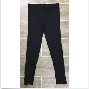 Milk Silver Studded Ankle Leggings Size S Small